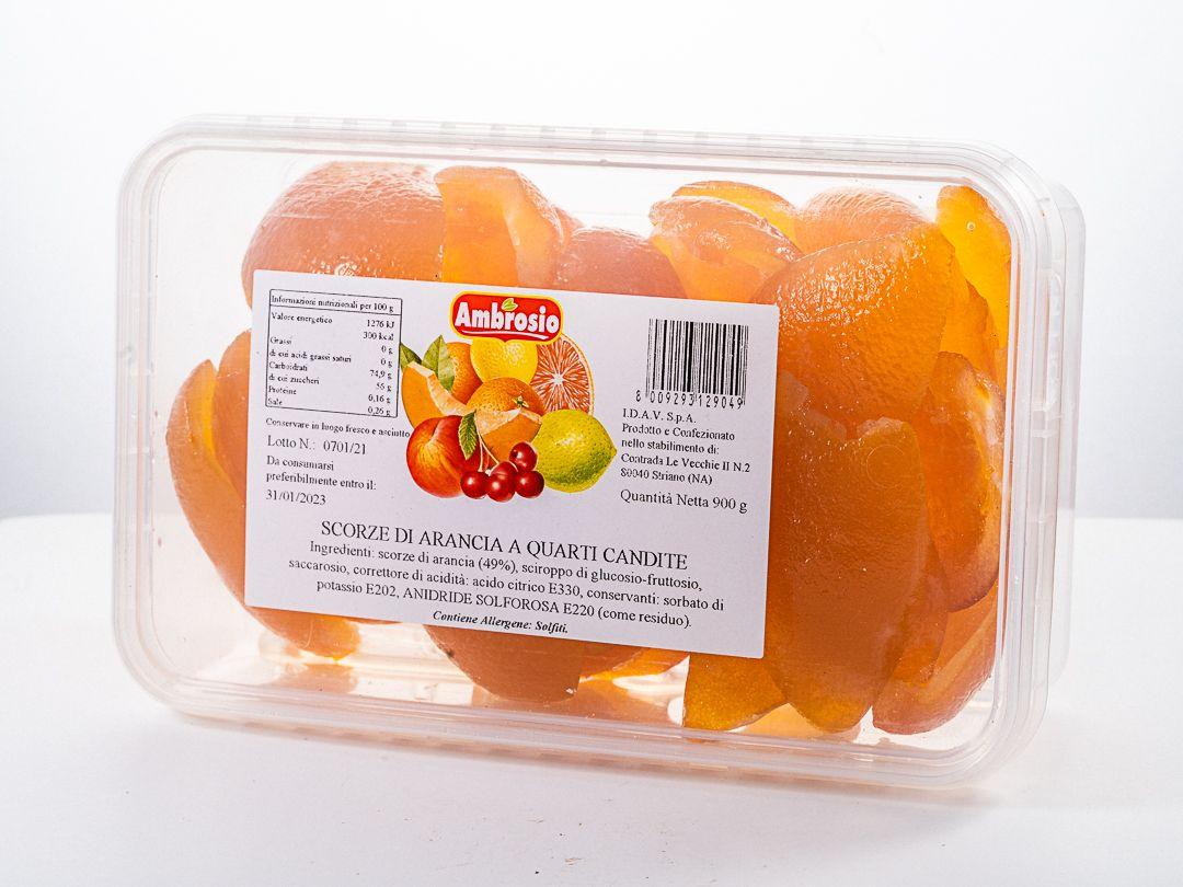 Scorze d'arancia candita