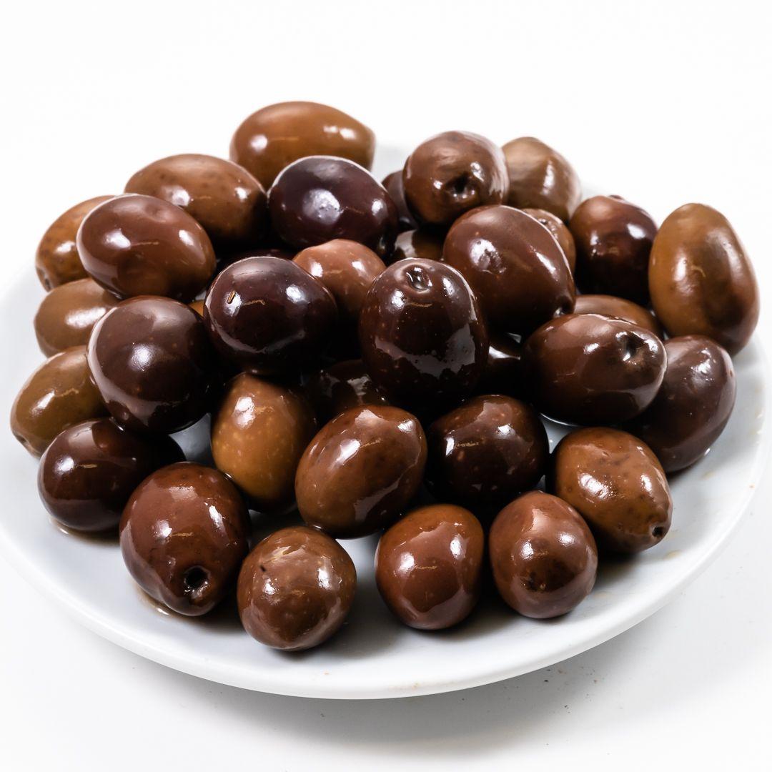 Olive leccine in salamoia